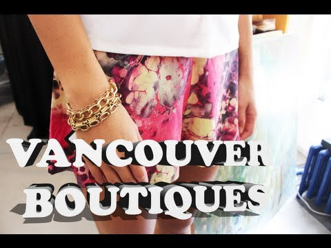 Where to Shop in Vancouver: DREAM Boutique in Gastown