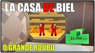 LA CASA DE BIEL-THE GREAT ROBBERY-HISTORINHA IN ROBLOX