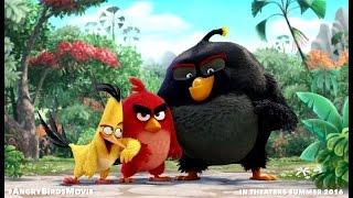 The Angry Birds movie 2016 / Злые птицы в кино | Русский Тизер-Трейлер (мультик 2016)