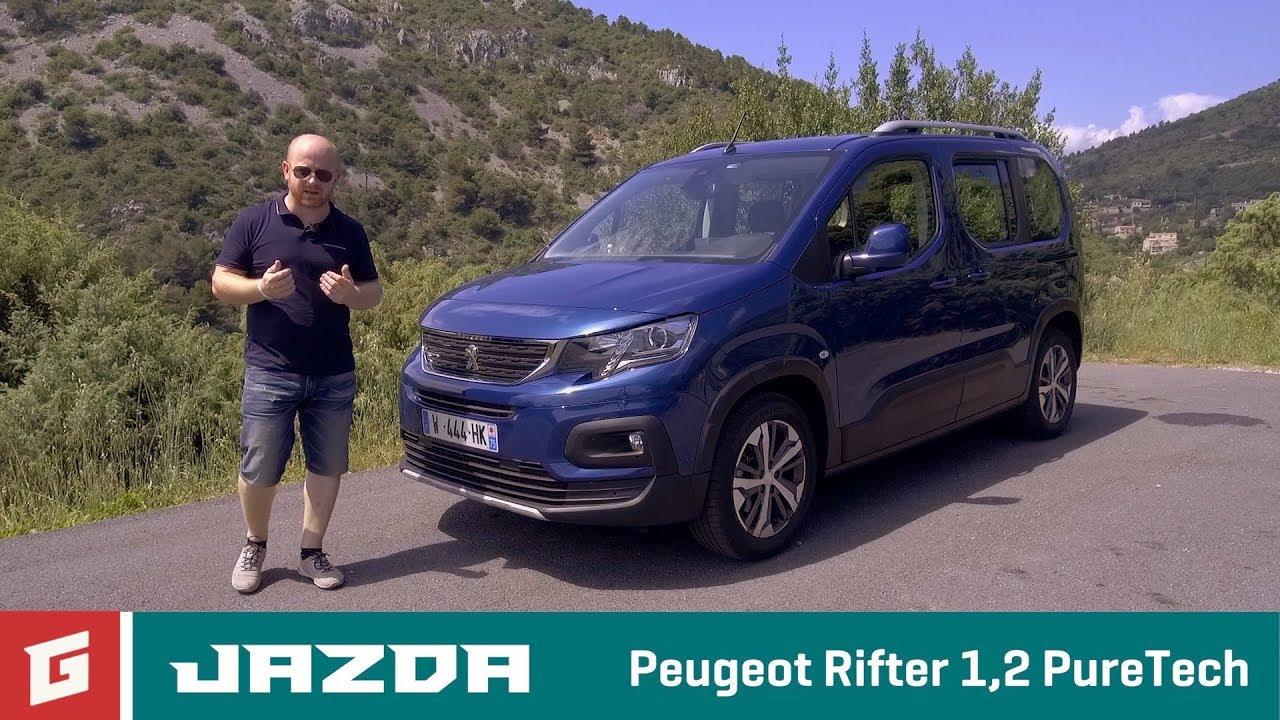 PEUGEOT RIFTER - prvá jazda - GARAZ.TV - Rasťo Chvála - YouTube