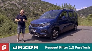 PEUGEOT RIFTER - prvá jazda - GARAZ.TV - Rasťo Chvála