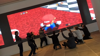 We Play Smash Bros on World's Largest Video Screen - LIVE!