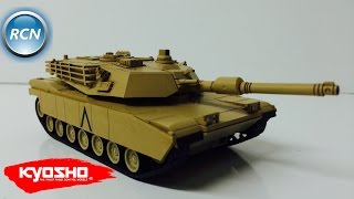 видео Kyosho Battle Tank Type 90
