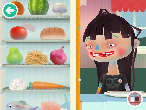 Toca Boca Kitchen 2 Girl