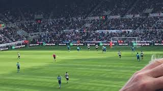 Newcastle v Arsenal vlog,,Ritchie is a magician!!