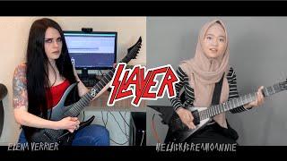 SLAYER - South of Heaven cover | Mel & Elena