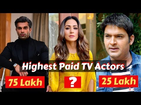 Highest Paid Indian Television Actors Of 2019