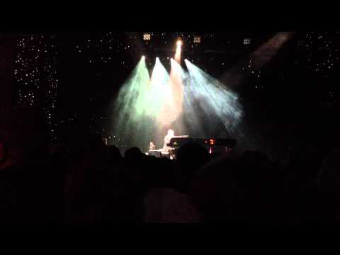 Elton John at Verizon Civic Center, Mankato MN - Candle in the Wind