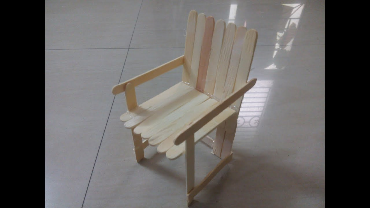 Diy how to create sofa chair using popsicle sticks ice cream diy how to create sofa chair using popsicle sticks ice cream sticks miniature craft youtube ccuart Image collections