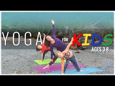 Yoga For Kids With Alyssa-Jean Klazek: Yoga For Kids Ages 3 To 8