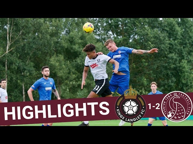 Extended Highlights: Kings Langley 1-2 Taunton Town