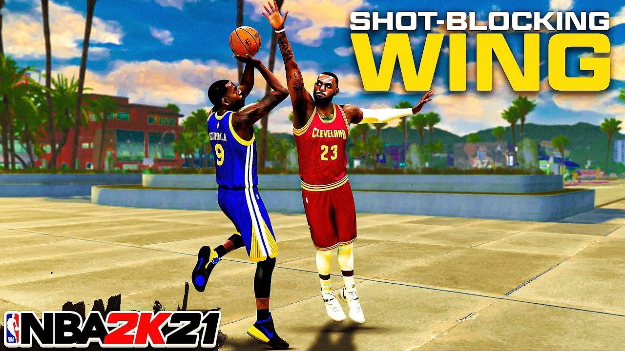 """99 OVR """"SHOT-BLOCKING WING"""" BUILD is OVERPOWERED in NBA 2K21"""