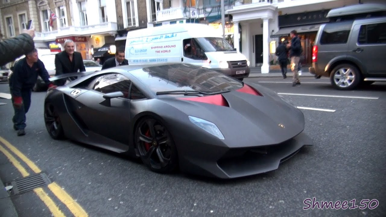 Lamborghini Sesto Elemento 2 3m Hypercar First Time In London