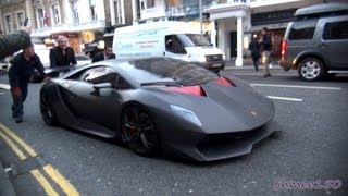 Lamborghini Sesto Elemento £2.3m Hypercar - First time in London