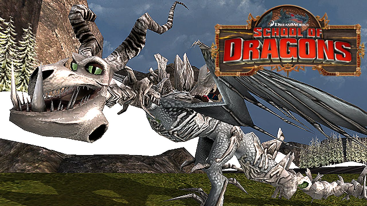 NEW! Boneknapper Animations - School of Dragons - YouTube