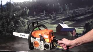 The chainsaw guy shop talk Stihl MS 180 chainsaw 1 28