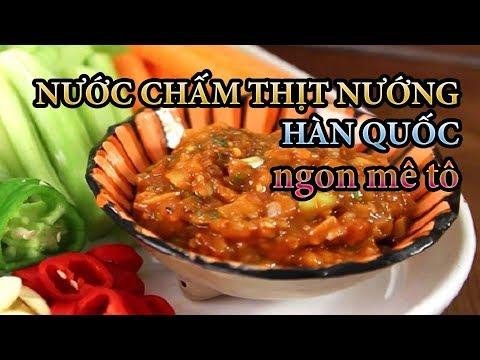 3 Bước làm nước chấm thịt nướng Hàn Quốc nhanh và đơn giản