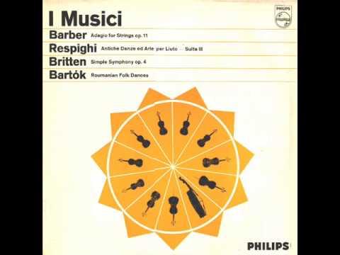 Respighi-Ancient Airs and Danses (Antiche arie e danze)-Suite no. 3 (Complete)