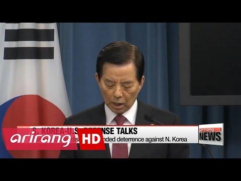 S. Korea, U.S. defense chiefs discuss extended deterrence against N. Korea