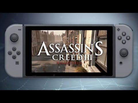Assassin's Creed III Remastered - Nintendo Switch Official Announcement Trailer thumbnail