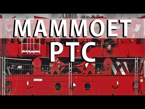 Mammoet PTC 35-DS 1,600 Tons Crane Heavy Lift Transport