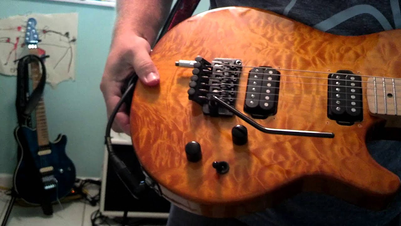 FU Tone updgrades to my HoneyBurst guitar
