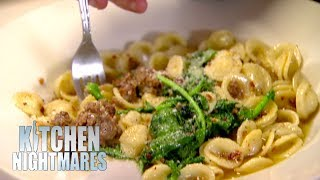 Owner Has To Drain Customer's Dish Of Oil   Kitchen Nightmares