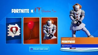 GET THE FREE *ES 2* FREE IN Fortnite *PENNYWISE SKIN* (Fortnite X ES 2)