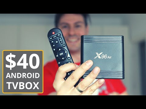 A Cheap Android TV Box In 2020: X96 Air Review & Test