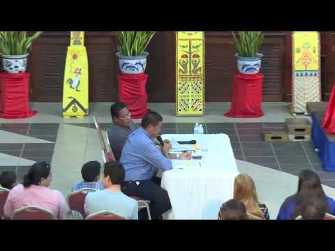 2016 Presidential Debate - (Republic of Palau)