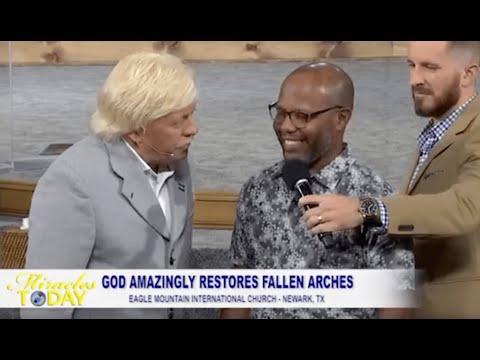 God Restores Fallen Arches!