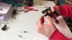 Vorbereitung Widerstände für Harley Davidson LED Front Blinker