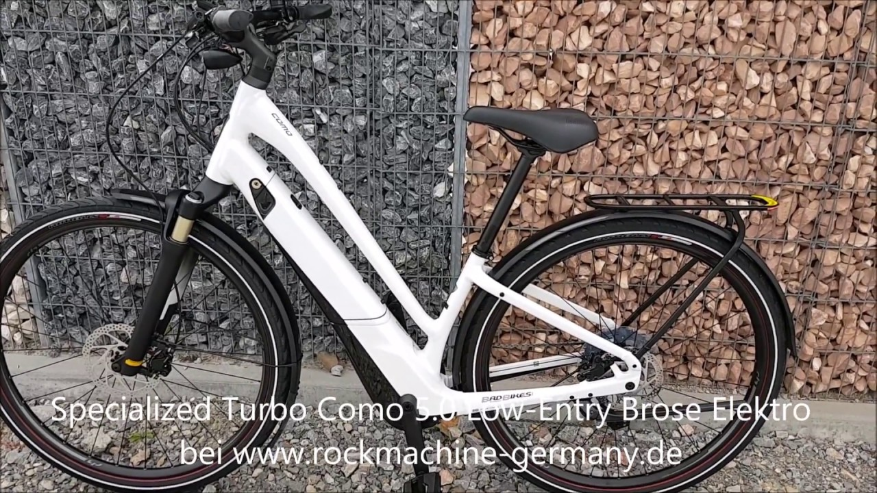 4e5c14cd462 Specialized Turbo Como 5 0 Low Entry Brose Elektro Fahrrad 2019 ...