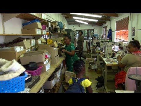 Groundcover - handmade leather shoe factory - Curry's Post - Midlands Meander - KZN - South Africa