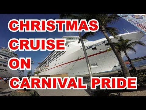 Christmas Cruise On Carnival Pride