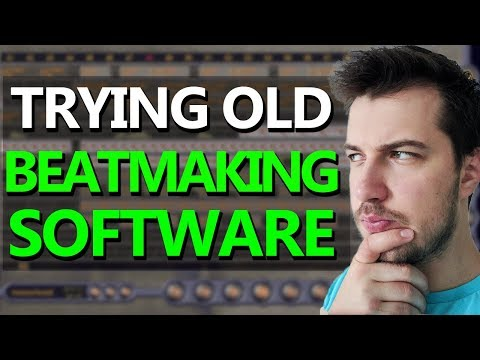 MAKING BEATS WITH AN OLD BEAT MAKING SOFTWARE - eJay Hip-Hop
