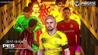 Borussia Dortmund - Bayern Munich [2017/18 KITS] PES 2017