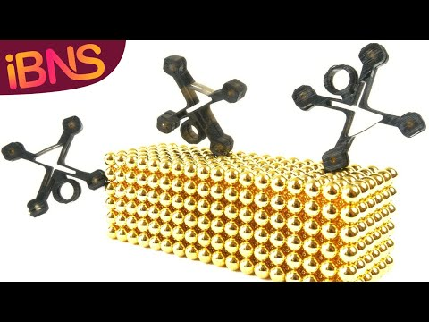 DIY Mini Magnet Stick Men - Fun with magnet balls and the AnyCubic Photon 3D Printer