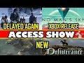 No Mans Sky Xbox? Red Dead Delayed Again! Kingdom Come Incoming much more - Access Show