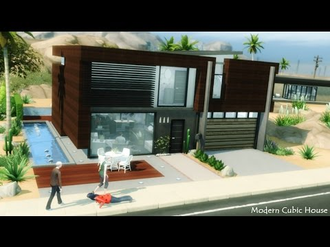 The Sims 4: Modern Cubic House