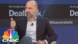 Uber CEO Dara Khosrowshahi Says Co-Founder Travis Kalanick Has Agreed To Keep His Distance | CNBC