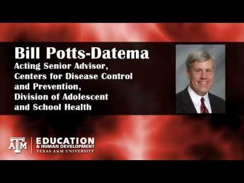 "Bill Potts-Datema -  ""Health Promotion in Adolescents and Schools"""