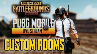 LIVE? - Live Stream mein Hacking? - PUBG Mobile Live Custom Rooms