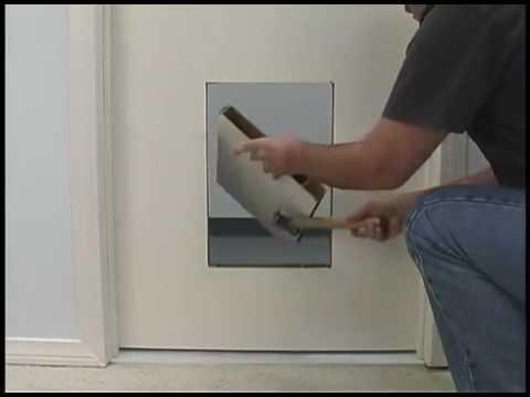 Como instalar puerta para mascotas youtube - Puerta vaiven para perros ...