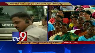 CM Chandrababu on AP Govt schemes @ Grama Darshini event in Guntur TV9