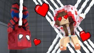 Minecraft - ESCOLINHA ‹ HOMEM ARANHA APAIXONADO! › #03