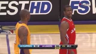 Kobe And Chris Paul fight!!