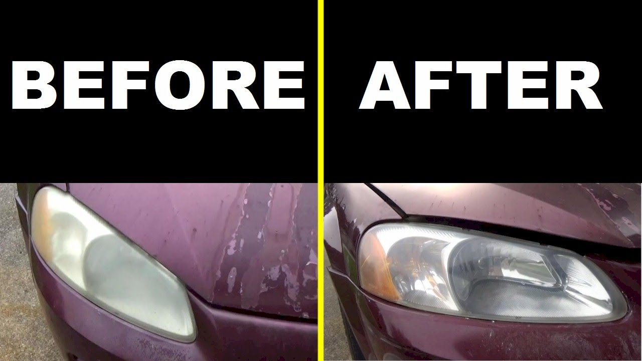 How To Clean Your Headlights With Crest Toothpaste Vs 3m Headlight