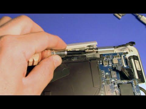 MacBook Air Broken Hinge Repair Replace - How To Fix A Loose Screen
