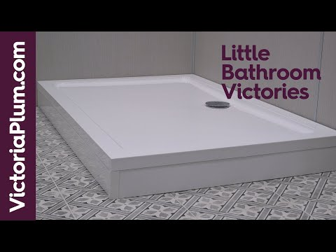 How to fit a shower tray riser kit
